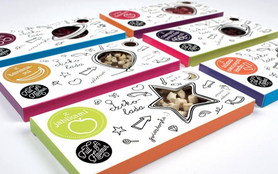 色彩活潑的五種包裝設計